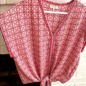 Crop max studio blouse